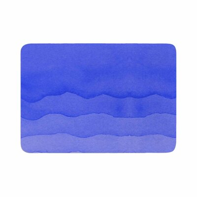 Ombre Berry Digital Memory Foam Bath Rug Size: 0.5 H x 17 W x 24 D