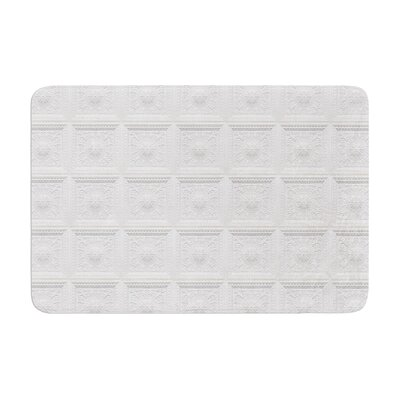 Palace Ceiling Tiles Abstract Memory Foam Bath Rug Size: 0.5 H x 17 W x 24 D