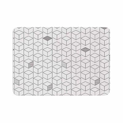 Shade Cubed Memory Foam Bath Rug Size: 0.5 H x 24 W x 36 D
