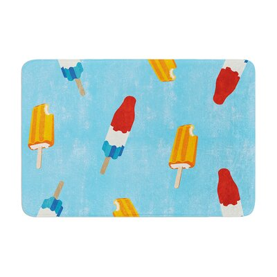 Feels like Summer Food Memory Foam Bath Rug Size: 0.5 H x 17 W x 24 D