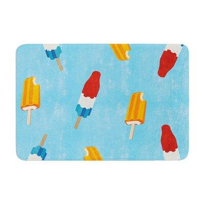 Feels like Summer Food Memory Foam Bath Rug Size: 0.5 H x 24 W x 36 D