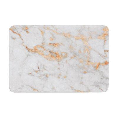 RoseFlake Memory Foam Bath Rug Size: 0.5 H x 24 W x 36 D