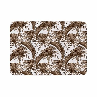 Palmtastic Abstract Memory Foam Bath Rug Size: 0.5 H x 24 W x 36 D