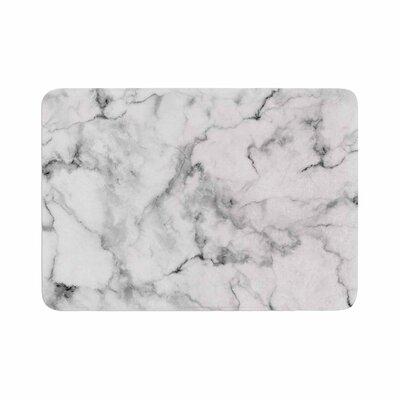 Marble Memory Foam Bath Rug Size: 0.5 H x 24 W x 36 D