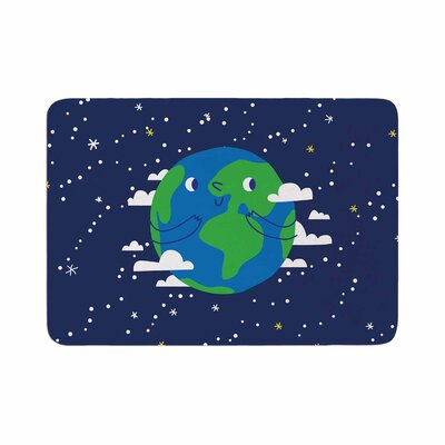Happy Earth Memory Foam Bath Rug Size: 0.5 H x 17 W x 24 D