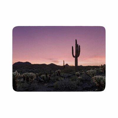 Tucson Sunset Tags Memory Foam Bath Rug Size: 0.5 H x 17 W x 24 D