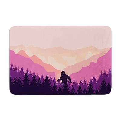 "Big Foot Memory Foam Bath Rug Size: 0.5"" H X 17"" W X 24"" D"