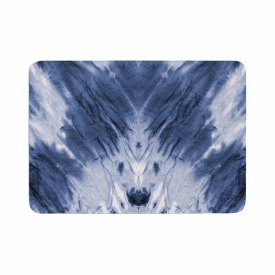 Dye Pattern Memory Foam Bath Rug Size: 0.5 H x 24 W x 36 D