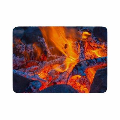 Hot Memory Foam Bath Rug Size: 0.5 H x 17 W x 24 D