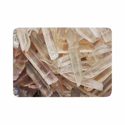 Crystal Cluster Memory Foam Bath Rug Size: 0.5 H x 17 W x 24 D