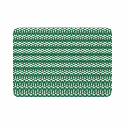 Celtic Texture Memory Foam Bath Rug Size: 0.5 H x 17 W x 24 D