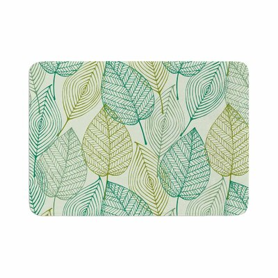 Make Like a Tree Pattern Memory Foam Bath Rug Size: 0.5 H x 17 W x 24 D