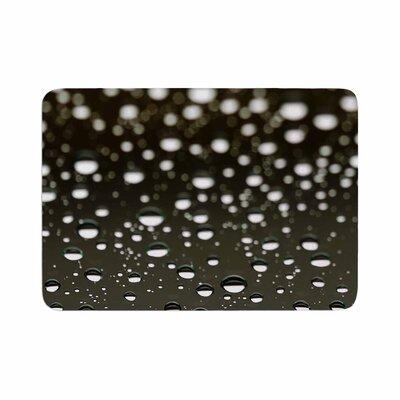 Kristi Jackson Rain Bokeh Memory Foam Bath Rug Size: 0.5 H x 17 W x 24 D