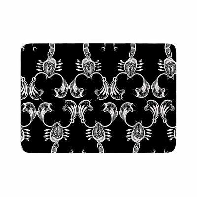 Maria Bazarova Scorpio Nature Memory Foam Bath Rug Size: 0.5 H x 24 W x 36 D