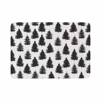 Marta Olga Klara Pine Forest Nature Memory Foam Bath Rug Size: 0.5 H x 17 W x 24 D