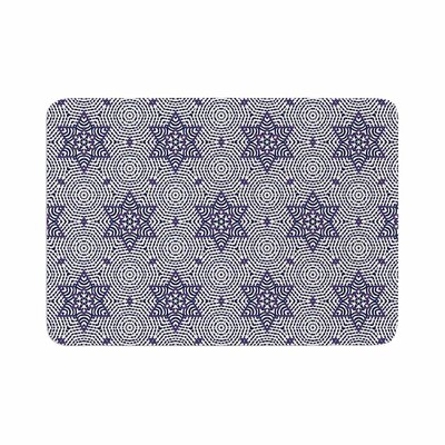 Laura Nicholson Star Power Geometric Memory Foam Bath Rug Size: 0.5 H x 17 W x 24 D