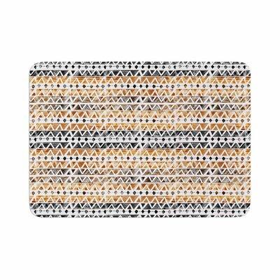 Li Zamperini Africa Tribal Memory Foam Bath Rug Size: 0.5 H x 17 W x 24 D