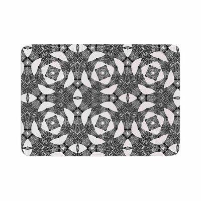 Laura Nicholson Twiggy Boxes Geometric Memory Foam Bath Rug Size: 0.5 H x 17 W x 24 D