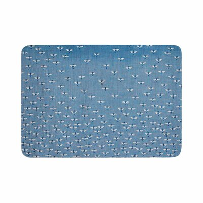 Laura Nicholson Being Here Memory Foam Bath Rug Size: 0.5 H x 17 W x 24 D