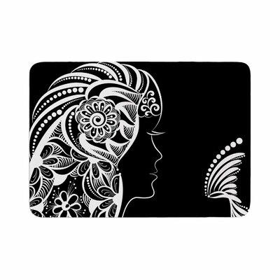 Maria Bazarova Horoscope Virgin Memory Foam Bath Rug Size: 0.5 H x 24 W x 36 D