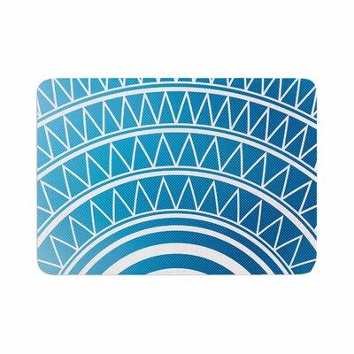 Matt Eklund Azure Portal Memory Foam Bath Rug Size: 0.5 H x 17 W x 24 D