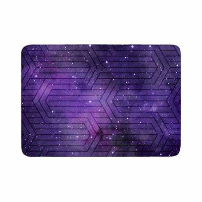 Matt Eklund Cosmic Labyrinth Memory Foam Bath Rug Size: 0.5 H x 24 W x 36 D