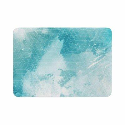 Matt Eklund Skyward Memory Foam Bath Rug Size: 0.5 H x 17 W x 24 D