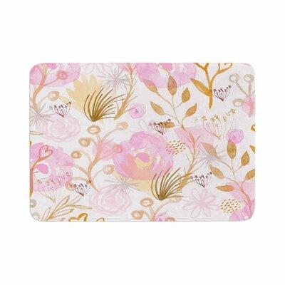 Li Zamperini Spring Time Memory Foam Bath Rug Size: 0.5 H x 24 W x 36 D