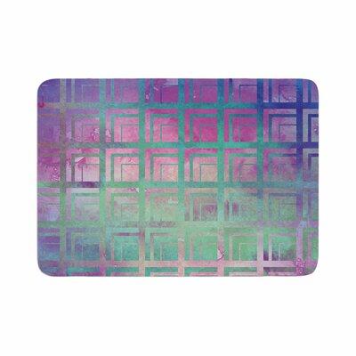 Matt Eklund Tiled Poison Memory Foam Bath Rug Size: 0.5 H x 24 W x 36 D