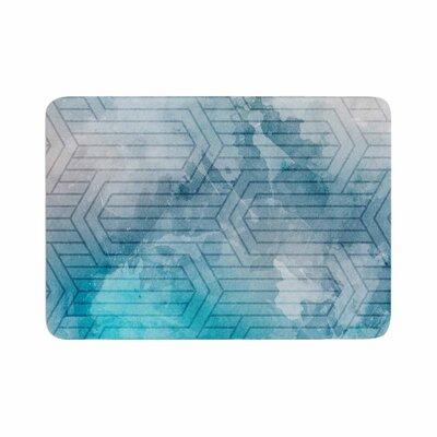 Matt Eklund Frost Labyrinth Memory Foam Bath Rug Size: 0.5 H x 24 W x 36 D