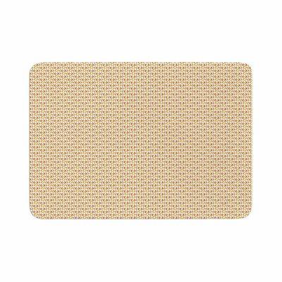 Petit Griffin Chevron Pattern Memory Foam Bath Rug Size: 0.5 H x 17 W x 24 D