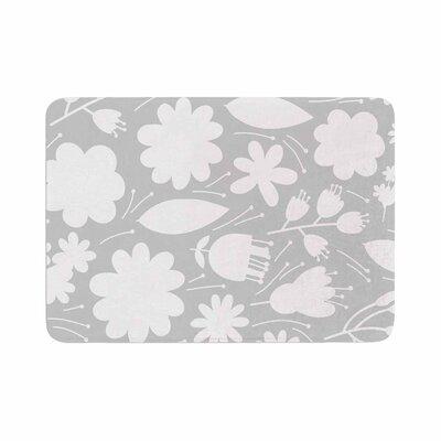 Petit Griffin Leaf Digital Memory Foam Bath Rug Size: 0.5 H x 17 W x 24 D