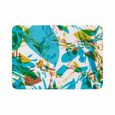 Matthias Hennig Wild Areas Floral Memory Foam Bath Rug Size: 0.5 H x 24 W x 36 D
