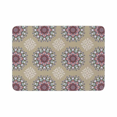 Nika Martinez Princess Abstract Memory Foam Bath Rug Size: 0.5 H x 24 W x 36 D