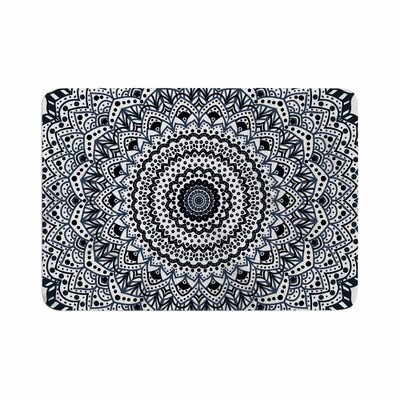 Nika Martinez Boheme Dream Mandala Illustration Memory Foam Bath Rug Size: 0.5 H x 24 W x 36 D