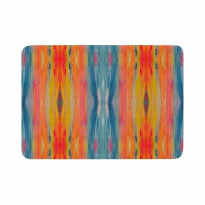 Nika Martinez Boho Tie Dye Memory Foam Bath Rug Size: 0.5 H x 24 W x 36 D