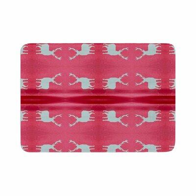 Nika Martinez Deer Tie Die Memory Foam Bath Rug Size: 0.5 H x 17 W x 24 D