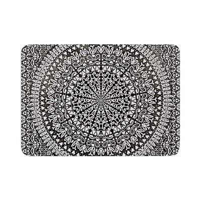 Nika Martinez Mandala Bandana Abstract Memory Foam Bath Rug Size: 0.5 H x 24 W x 36 D