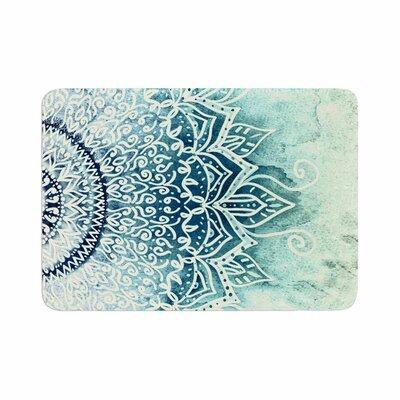 Nika Martinez Mina Mandala Geometric Memory Foam Bath Rug Size: 0.5 H x 17 W x 24 D