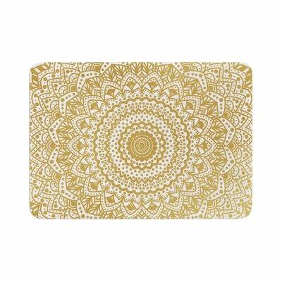 Nika Martinez Mandala Illustration Memory Foam Bath Rug Size: 0.5 H x 24 W x 36 D