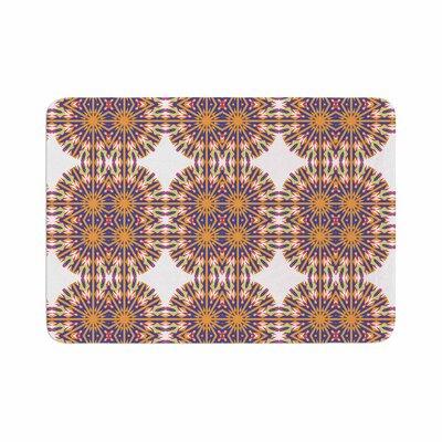 Miranda Mol Ornamental Tiles Memory Foam Bath Rug Size: 0.5 H x 17 W x 24 D