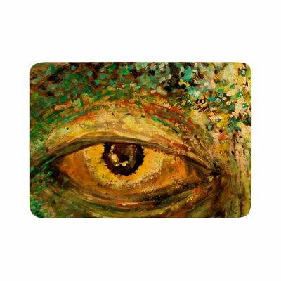 Nathan Gibbs Art Eye of the Storm Memory Foam Bath Rug Size: 0.5 H x 17 W x 24 D