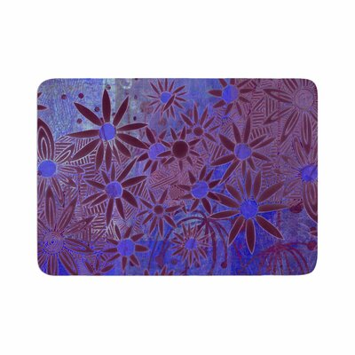 Marianna Tankelevich Night Memory Foam Bath Rug Size: 0.5 H x 17 W x 24 D