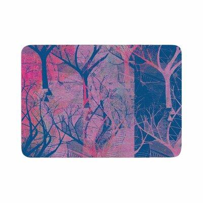 Marianna Tankelevich Fantasy Garden Memory Foam Bath Rug Size: 0.5 H x 24 W x 36 D