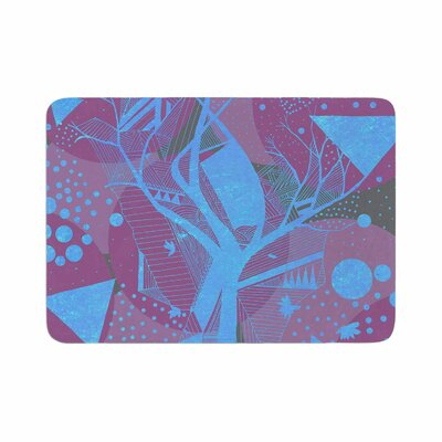 Marianna Tankelevich Dancing Shapes Memory Foam Bath Rug Size: 0.5