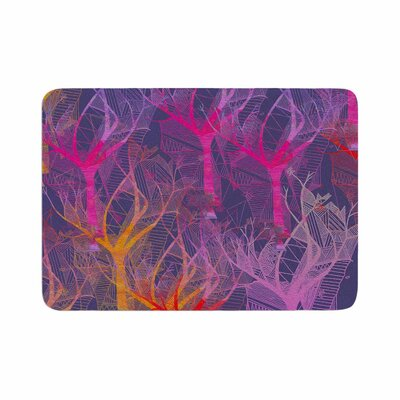 Marianna Tankelevich Colorful Trees Abstract Memory Foam Bath Rug Size: 0.5 H x 24 W x 36 D