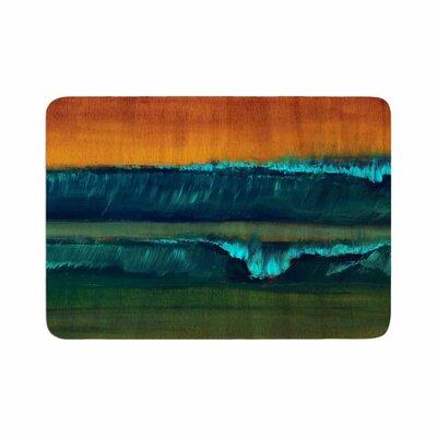 Nathan Gibbs Leaf Tea Memory Foam Bath Rug Size: 0.5 H x 17 W x 24 D