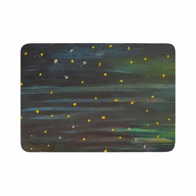NL Designs Star Fields Memory Foam Bath Rug Size: 0.5 H x 24 W x 36 D