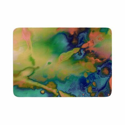 Nina May Acid Splash Down Memory Foam Bath Rug Size: 0.5 H x 24 W x 36 D