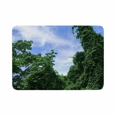 Nick Nareshni Forest in the Sky Photography Memory Foam Bath Rug Size: 0.5 H x 24 W x 36 D